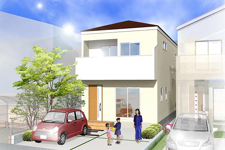 弥富市五明二丁目 全3棟新築住宅-1号棟