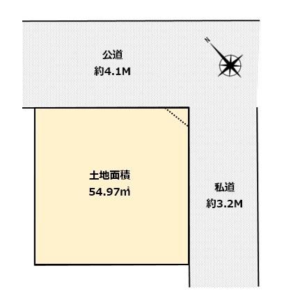 大田区東六郷3丁目 土地