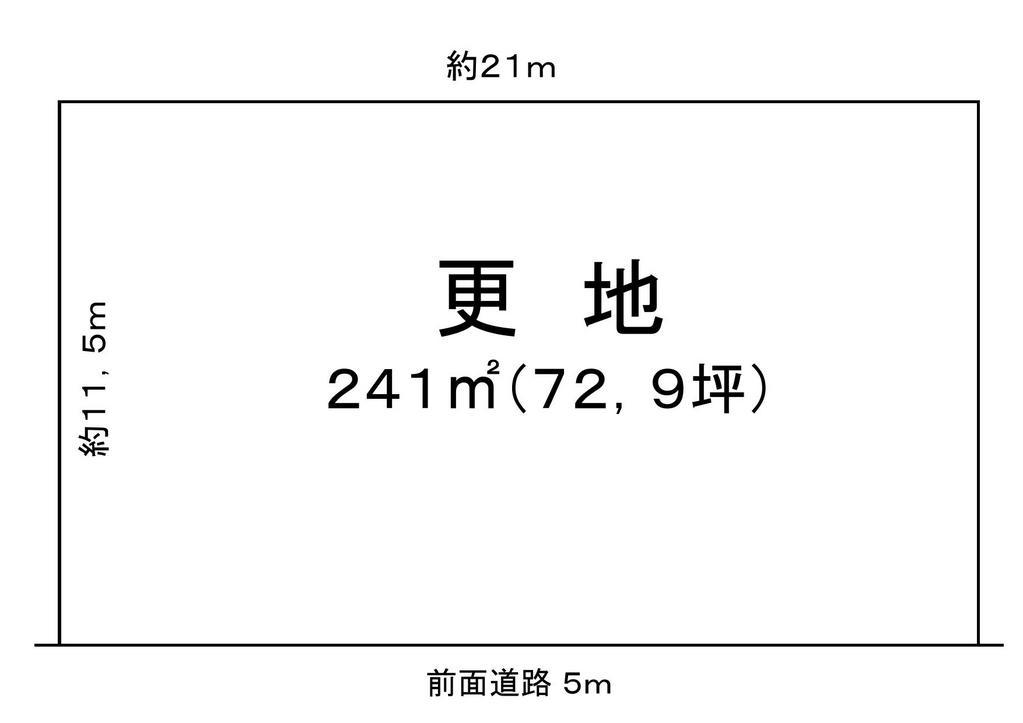 琵琶湖すぐ前 180万売土地