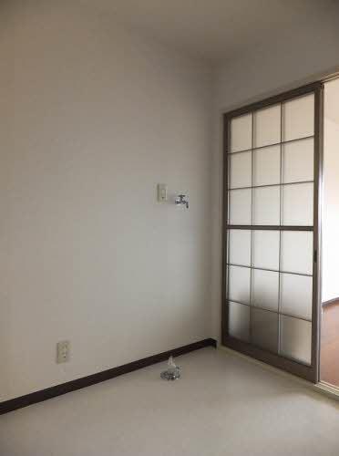アパート-東広島市八本松町原 洗濯機置き場