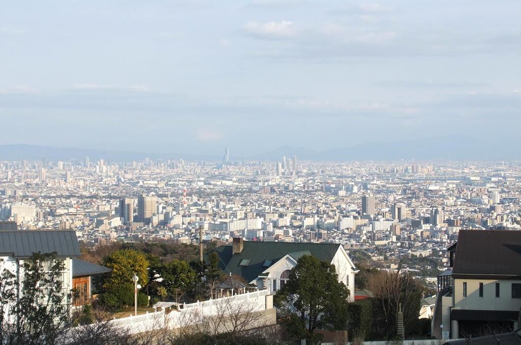 剣谷町 東南角地 160坪。大阪湾を一望できます。