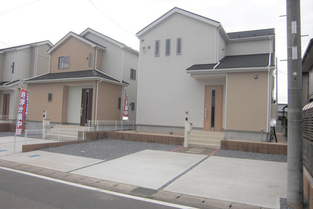 栃木市大平町西野田 新築4LDK。 計7棟の販売です。