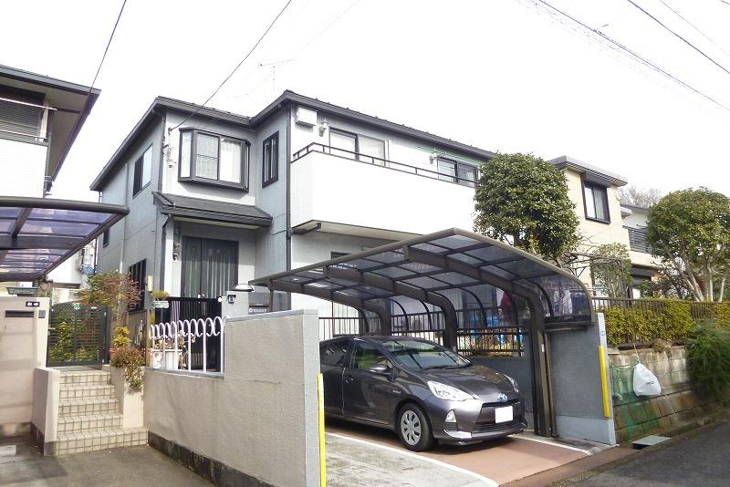 南陽台~南ひな壇 大型二世帯住宅~