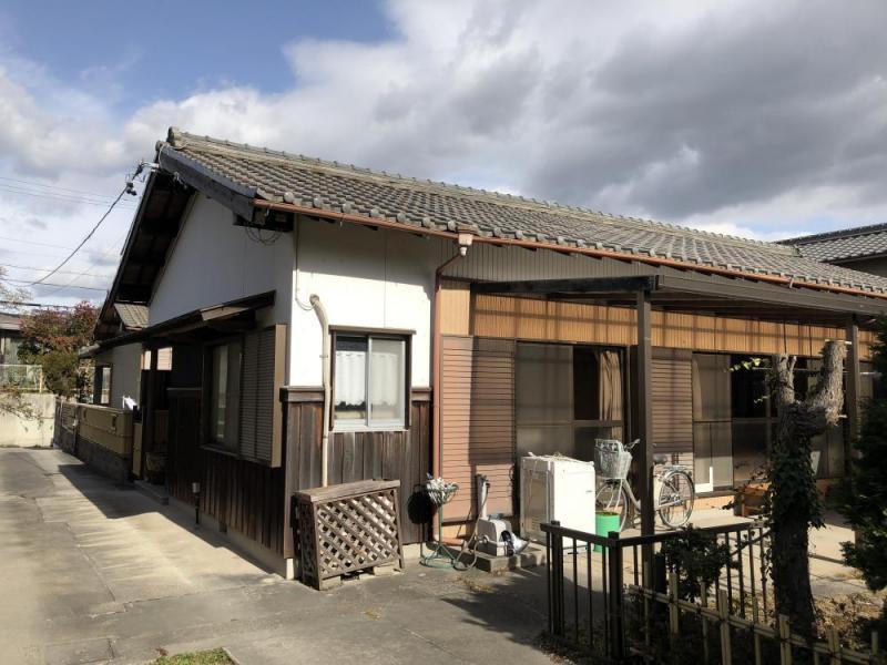 東浦町緒川北赤坂 平屋中古住宅