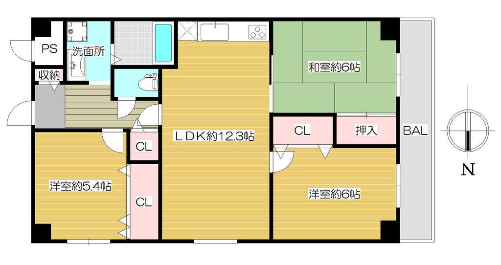 JR「京橋駅」まで8分の立地 メゾンドヴィル京橋