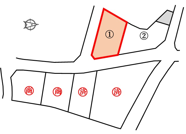 ウィルズタウン野田山 分譲宅地 1号地