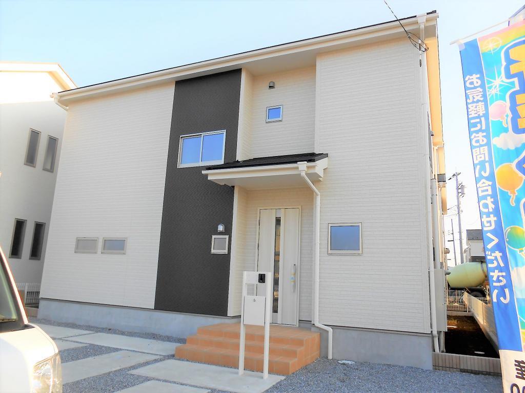 栃木市箱森町 新築4LDK。 計6棟の販売です。