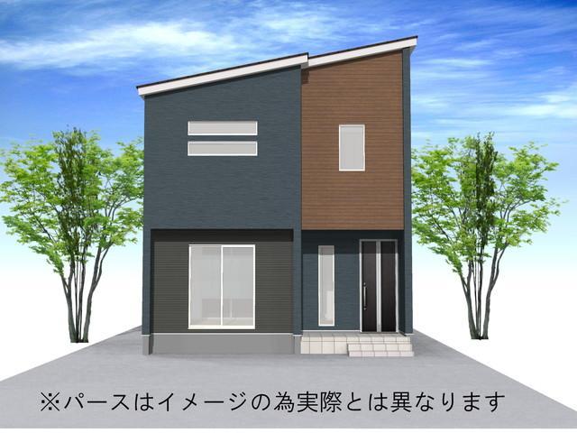 富山市五艘字桜谷 左棟 新築一戸建て