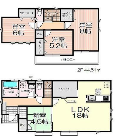 日高市高萩16期 新築分譲住宅 全5棟 4号棟