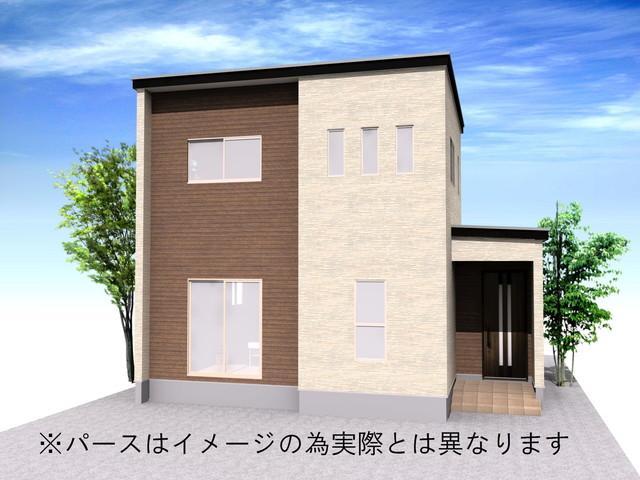 富山市五艘字桜谷 中棟 新築一戸建て