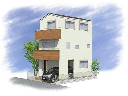 桜森2丁目 新築分譲住宅 全2棟 1号棟