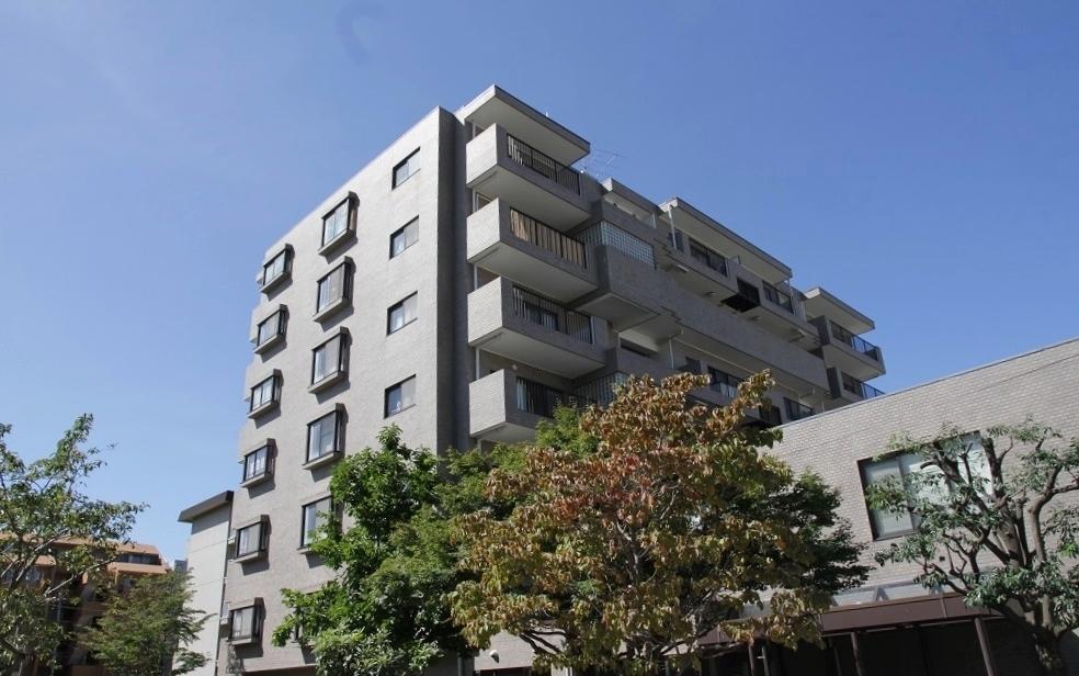 金沢文庫第一ハイツ 三方角部屋 エレベーター停止階