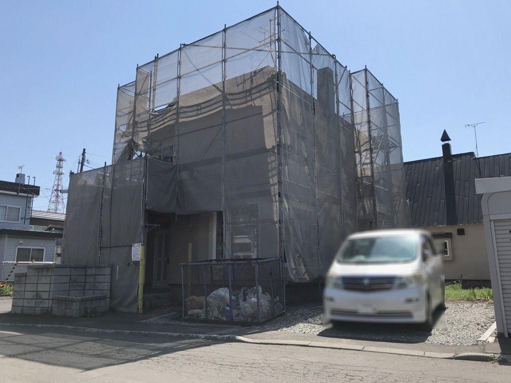 新発寒7条5丁目 角地 リフォーム一戸建