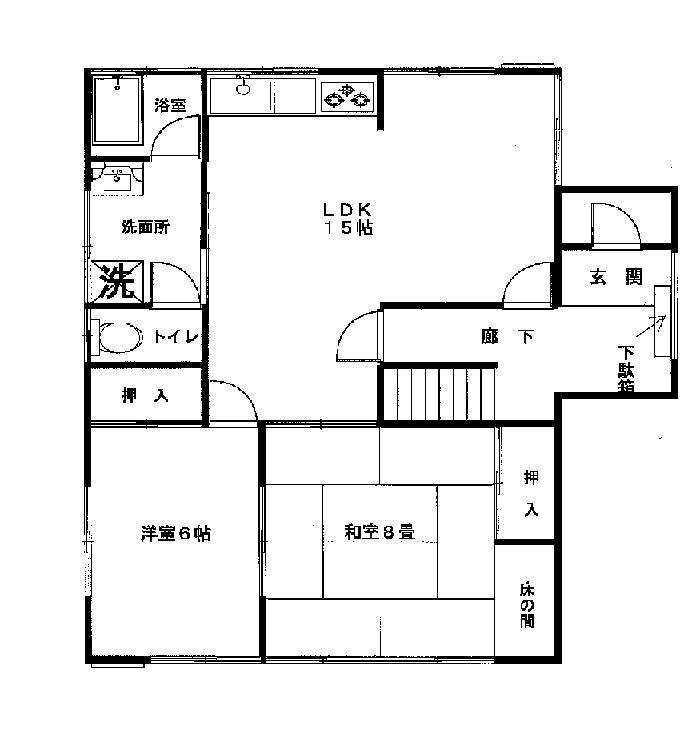 (鹿嶋市宮中)須賀道中古住宅