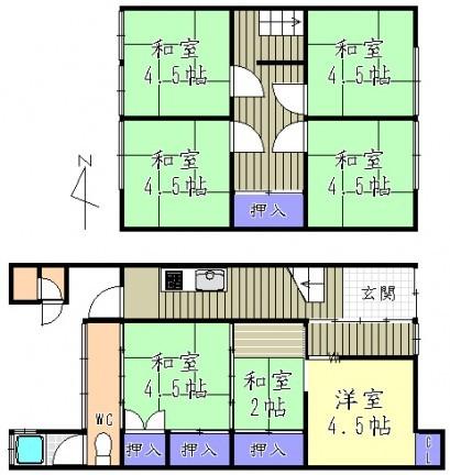 テラスハウス 京都市左京区
