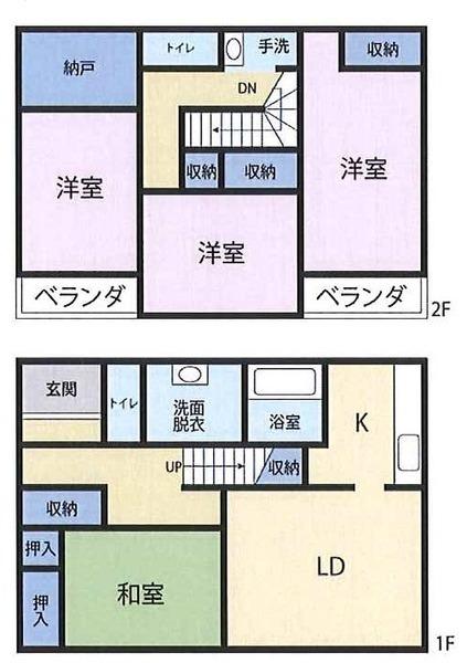 浜松市中区蜆塚 中古住宅 4LDK 2、998万
