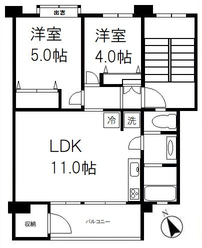 富士見町住宅27号棟