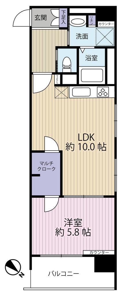 ラインコーポ箱崎 203