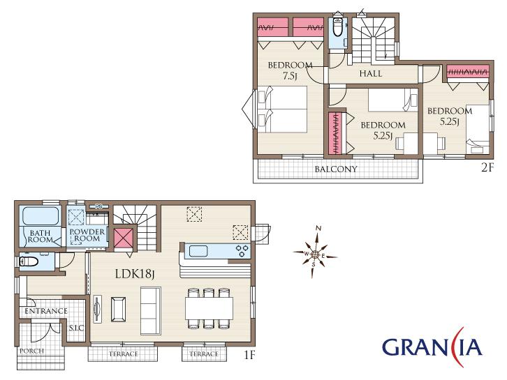 オープンハウス 大型車2台可 敷地70坪超の新邸完成
