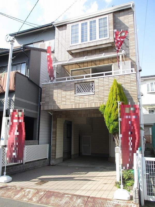 北田辺3丁目 一戸建住宅 南向きで駐車2台可能