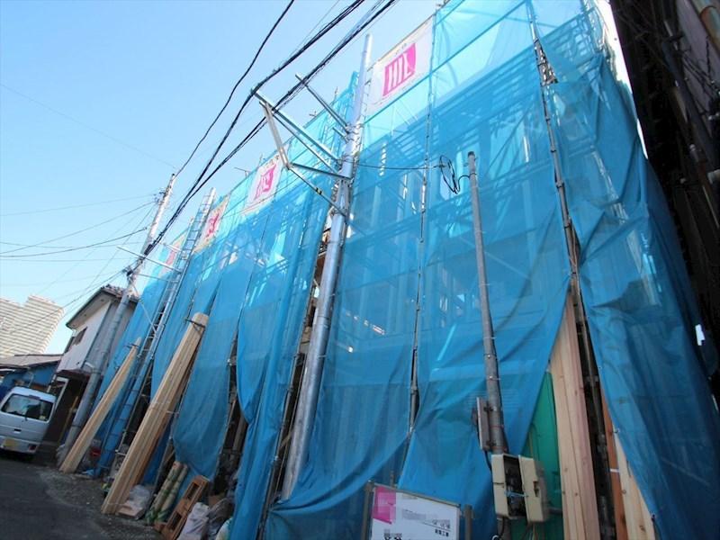 川崎市中原区中丸子新築戸建全4棟