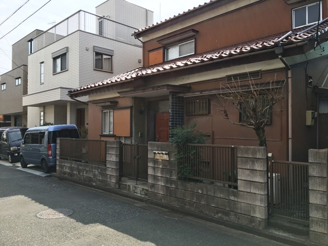 東府中駅4分の38坪の住宅用地