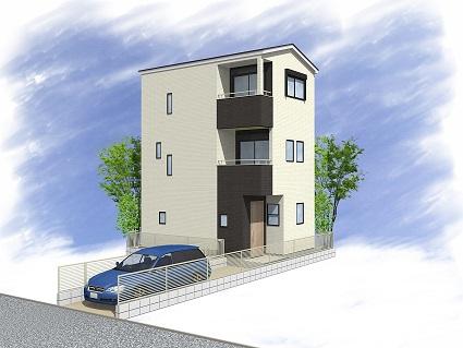 桜森2丁目 新築分譲住宅 全2棟 2号棟