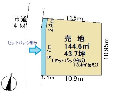 戸塚安行駅吉岡バス停停歩4分 A区画