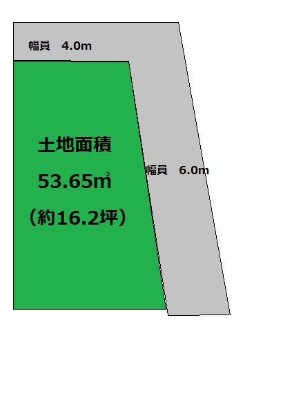 茨木市西中条町/新築プラン付一戸建 角地につき陽当たり・通風良好