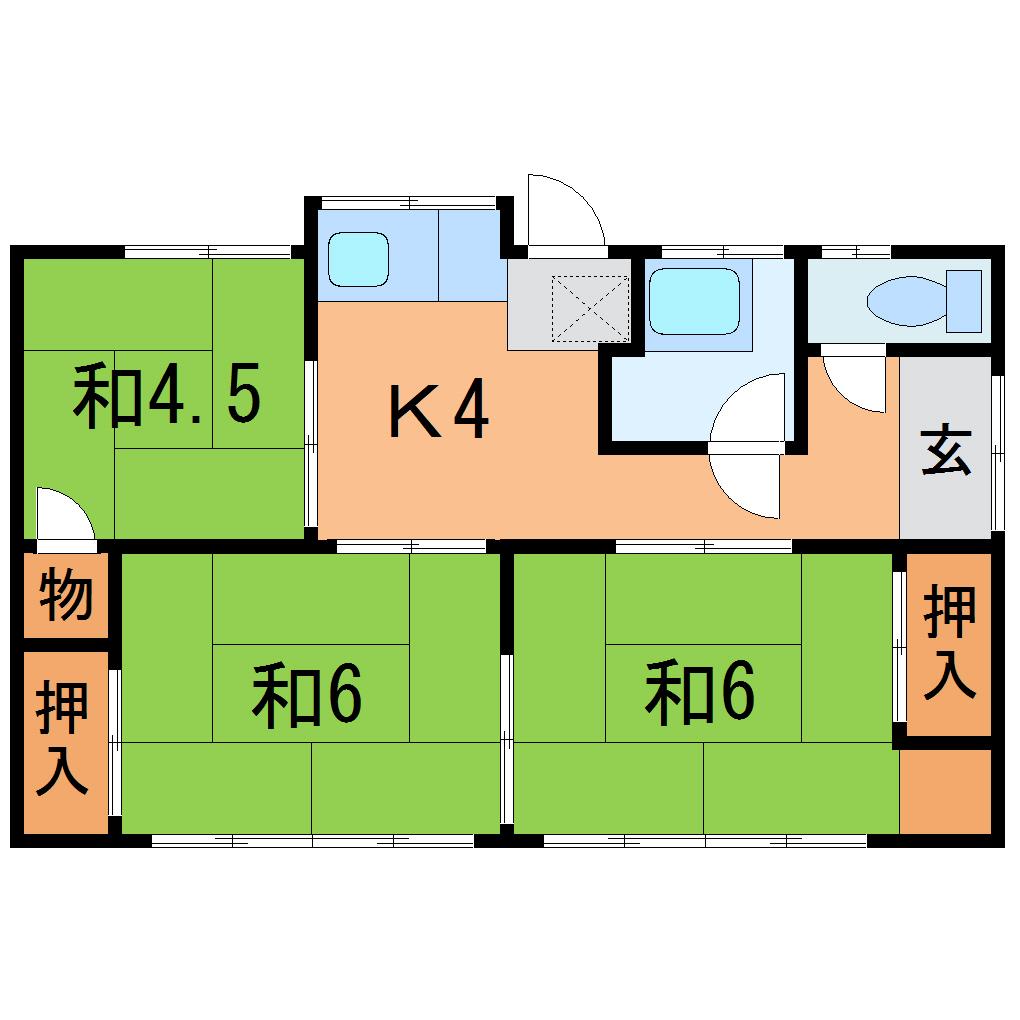 福島駅 4.5万円