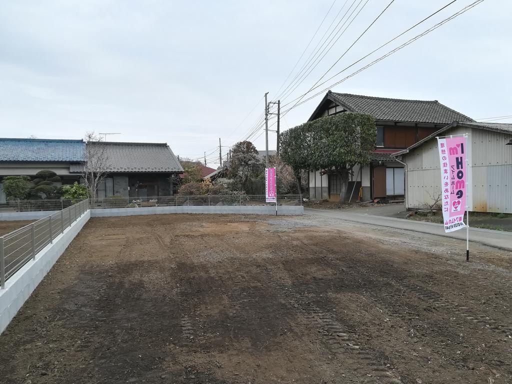 日高市上鹿山 建築条件付き売地 A区画
