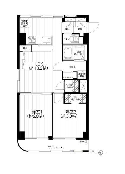 第21宮庭マンション 701