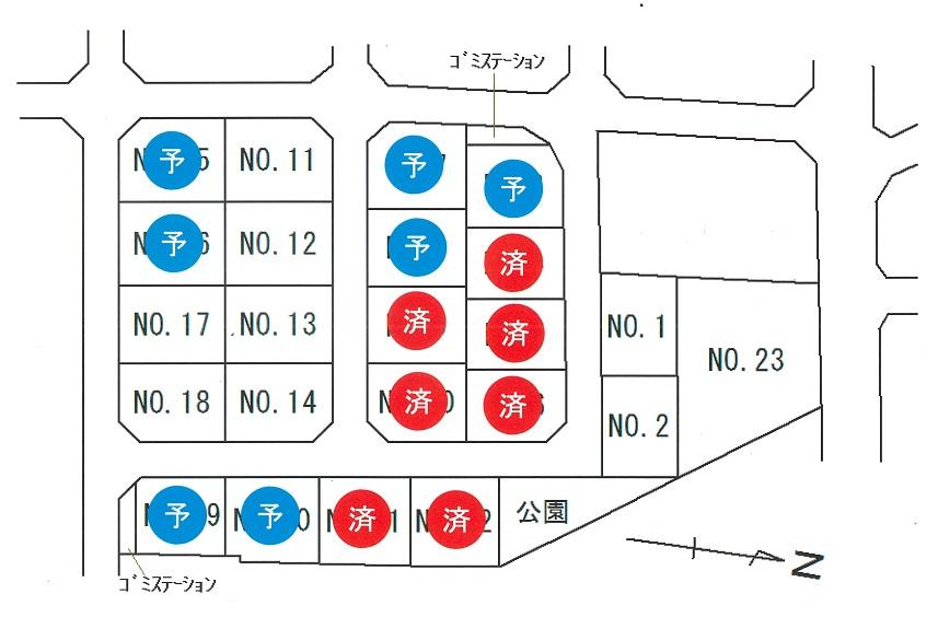 第8期タウン蓬莱町No.2 売地