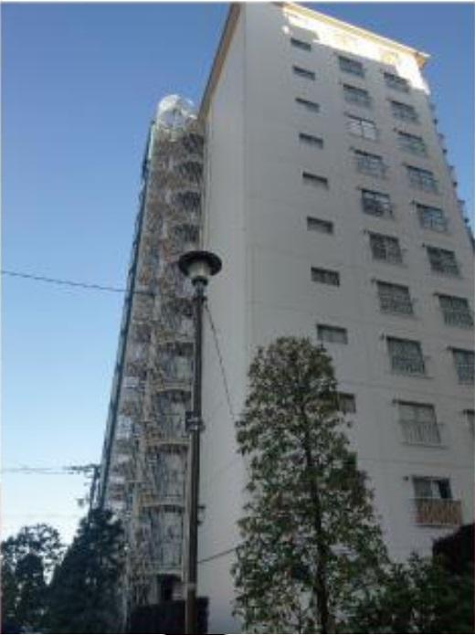 西八王子ハイツB棟 2階部分