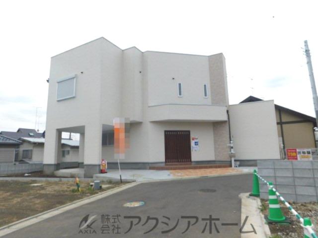 所沢市山口・全2棟 新築一戸建 1号棟 ~スタイリッシュな外観~