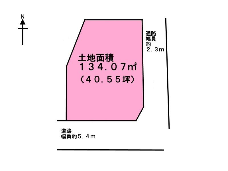 宝塚市平井3丁目 売り土地