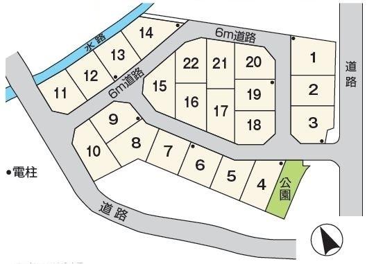 湖南市三雲 22区画 22号地 建築条件なし