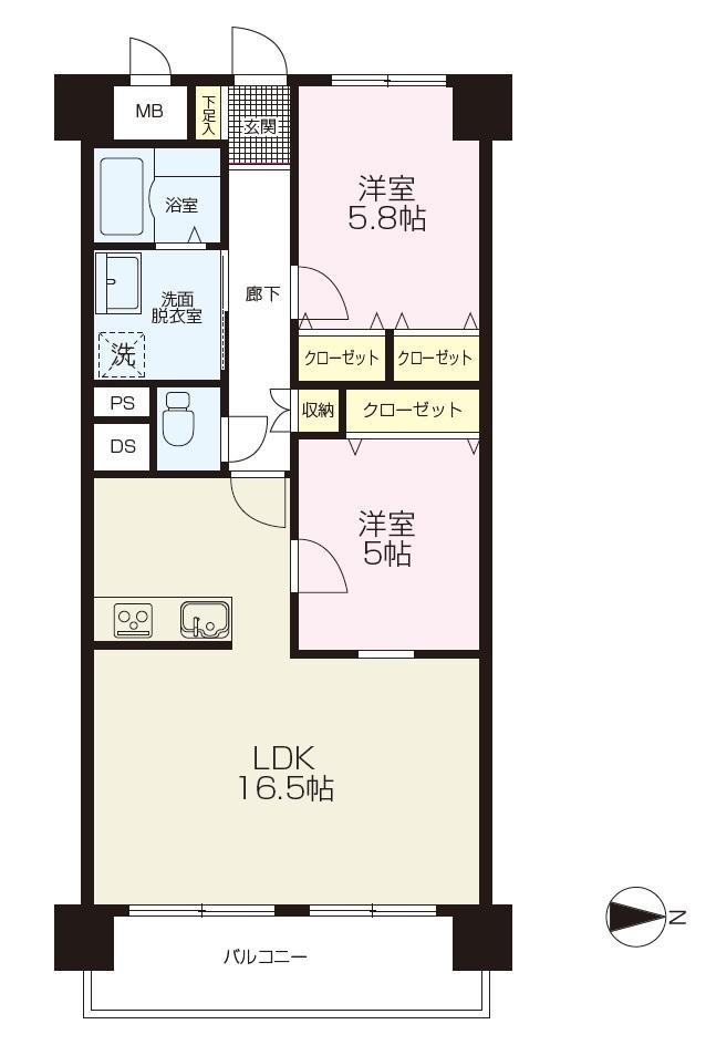 シーアイマンション久里浜724号室