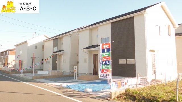 栃木市箱森町 Livele GardenS 新築分譲住宅全6棟 1号棟