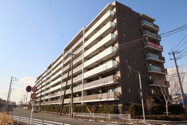 駅近・緑豊かなビッグコミュニティグランメディオ新三郷3階部