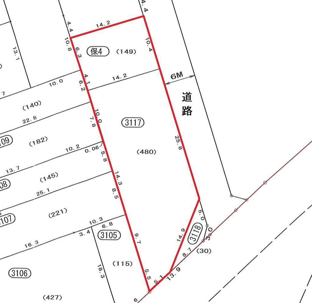 清水三保羽衣土地区画整理事業地 31街区17画地外