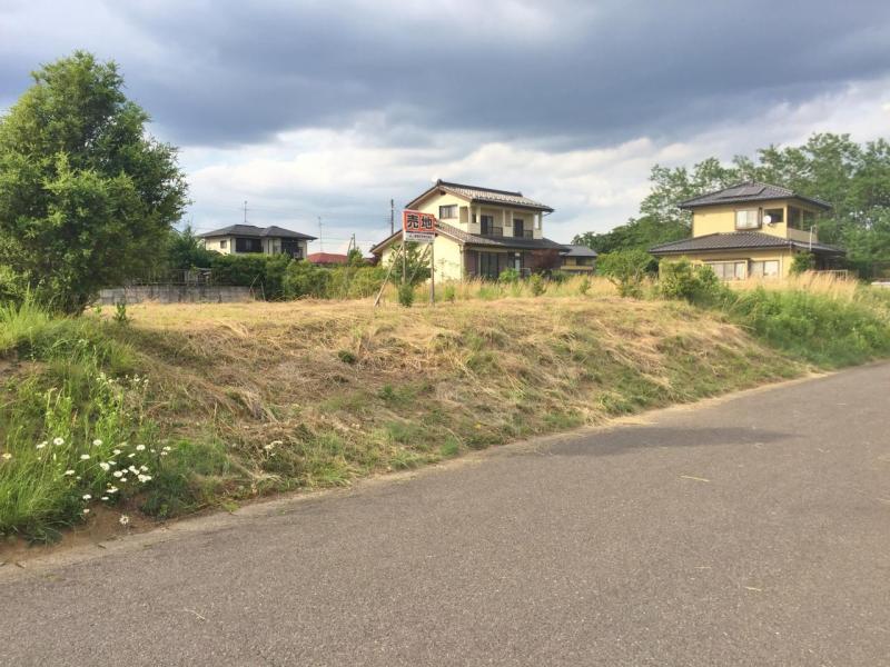 泉崎村関和久八雲神社 建築条件無し売地