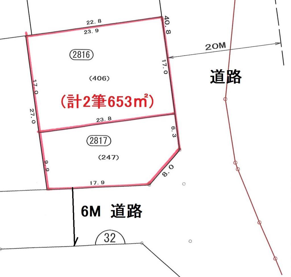 清水三保羽衣土地区画整理事業地 28街区16、17画地