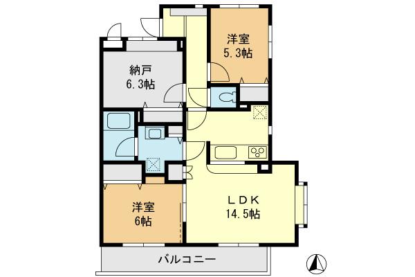 ウエストピア京王堀之内 生活環境の整ったリノベマンション