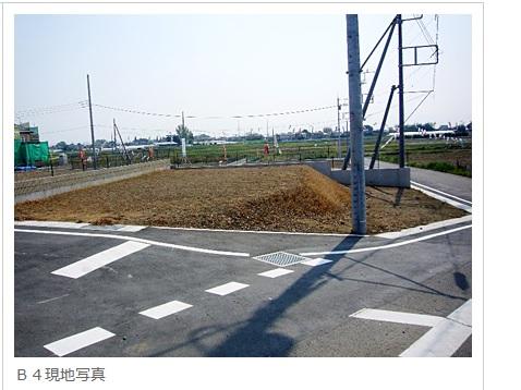 伊勢崎市赤堀今井町(せせらぎ公園 19区画分譲地 B4)