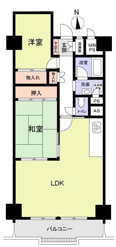 田光中学区名鉄・地下鉄両方ご利用できます