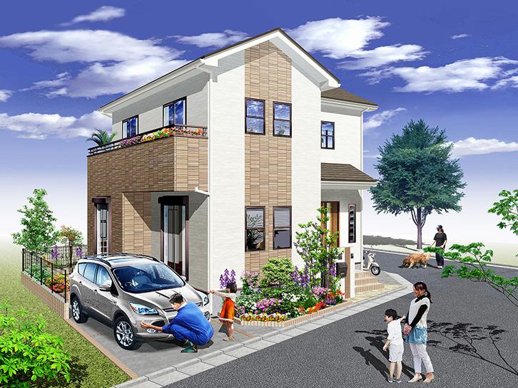 住協の新築戸建が全9区画の新規開発分譲地に誕生 新座市大和田