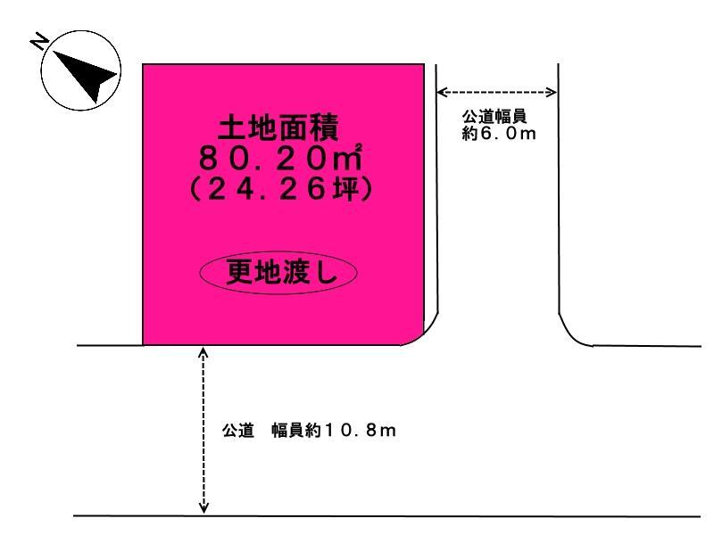 京田辺市興戸塚ノ本 売り土地