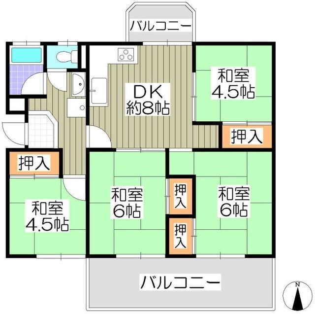 釈尊寺第三住宅 43号棟