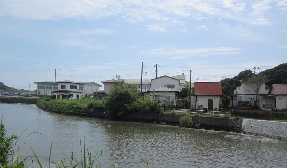 いすみ川に面した土地 分割可